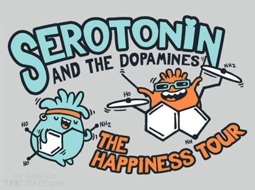faccc:  Serotonin & the Dopamines Sweatshirt