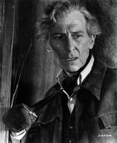 ninetythieves:  The great and talented Peter Cushing, as Van Helsing.