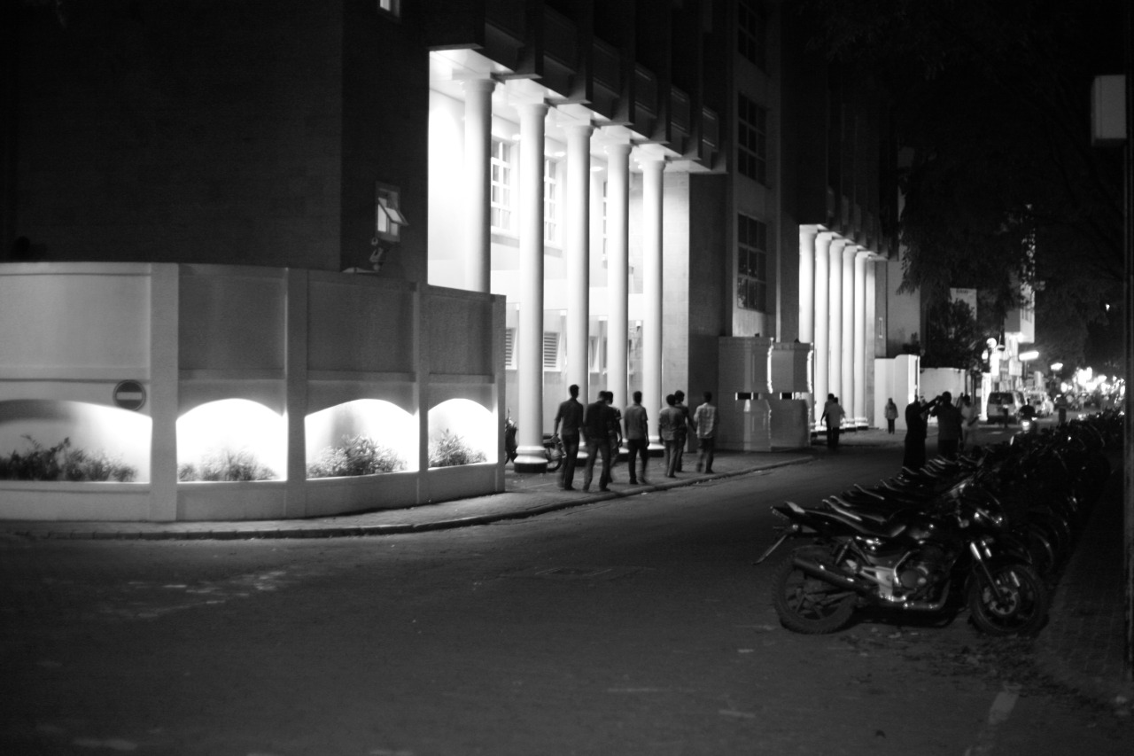Shots from Earth Hour 2013 , Male', Maldives