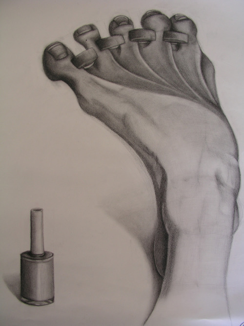 Drawing by Nathalie Lawhead