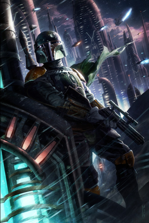 tiefighters:  Hunter in the Endless Created by Raymond Swanland Prints available at Ltd. Art Gallery