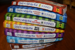 stuckatdisneyland:  oops i own all of the diary of a wimpy kid books