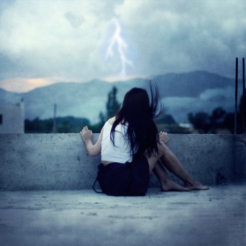 """This storm is coming, you should stay home."" (by christie primavera) Love this."