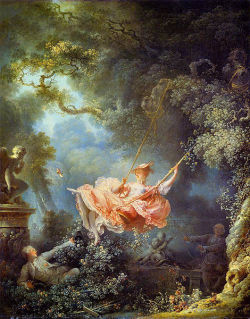 cavetocanvas:  Jean-Honore Fragonard, The Swing, 1767