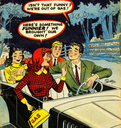 vintagegal:  Patsy Walker #94 (1961)