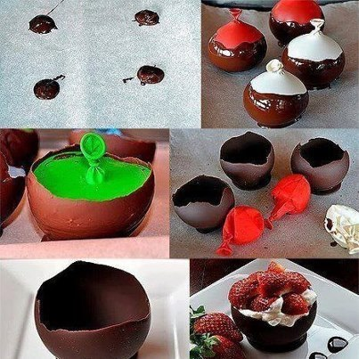 DIY: Chocolate Bowl