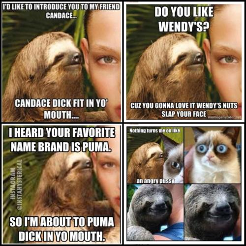 Sex Offender Sloth At Your Subliminal ServiceView Post