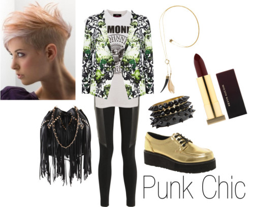 kinksarethenewpink:  In honor of the Met Gala on Monday night, some punky style inspiration. More on the blog! (via How to Style :: Punk Fashion | Kinks Are The New Pink)