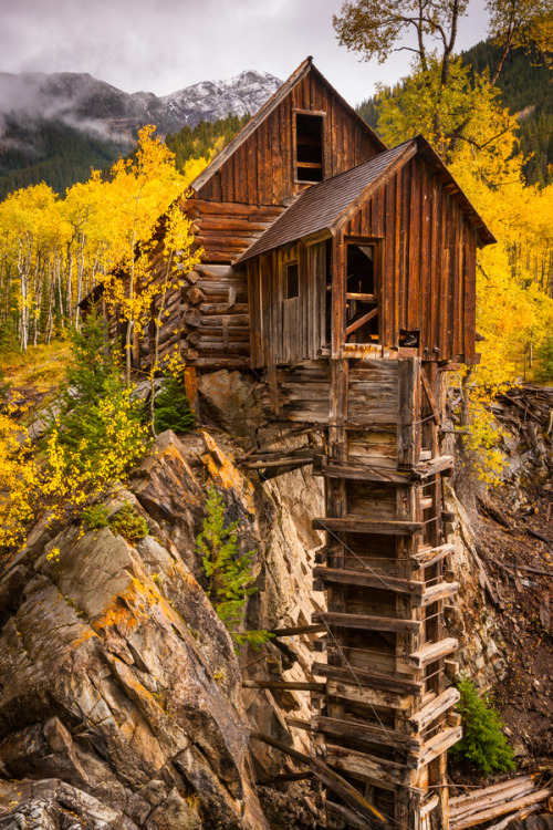 woodendreams:  Crystal Mill, Colorado, US (by Jason Hatfield)