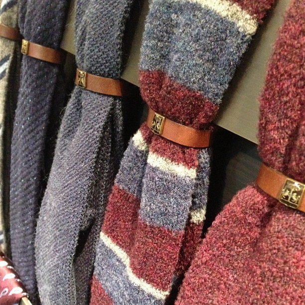 Rich textures and color at #Corneliani showroom. #menswear #NYC