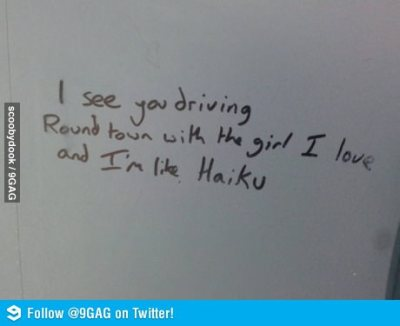 ragecomics4you:  Found a Haiku written on a public bathroom.http://ragecomics4you.tumblr.com