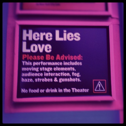 Please be advised (at The Public Theater)