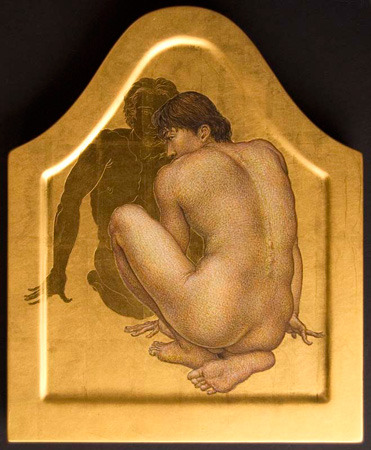 Michael Bergt | Facing Back | 2010 | 13.5 x 11"