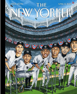 "newyorker:  On opening day, enjoy ""Hitting Forty,"" this week's cover by Mark Ulriksen, as well as a slide show of baseball covers from our archives: http://nyr.kr/10p4Zc4  …accurate."