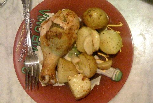 Garlic Lemon Basil…Perfectly Baked Chicken!…And Undercooked Potatoes So I made a real dinner tonight, for the first time in a long while. I…View Post