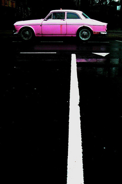 Pink… by CitroenAZU on Flickr.Pink. Volvo.
