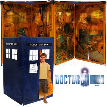 klaatu:   Doctor Who TARDIS Tent   cb would flip his lid!