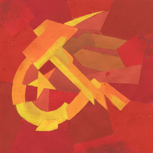 major-hxh-redflag:  Hammer and Sickle by ~Krokobyaka