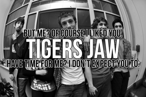 thepathofthewicked:  never once listened to TIgers Jaw, never will but i like these lyrics
