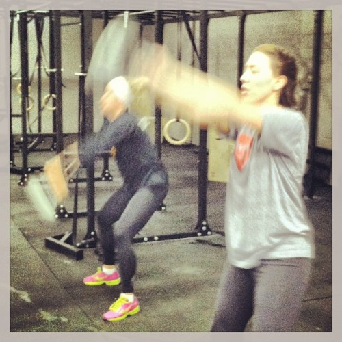 Great first wod Dianne! (at CrossFit Akron North)