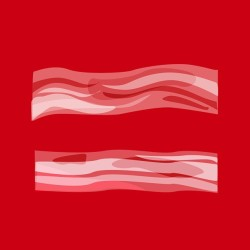 BLT 4 LGBT - Bacon loves everyone equally #theoatmeal #bacon #equalrights   #HumanRightsCampaign #gaymarriage