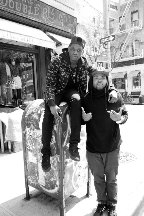 terrysdiary:  ASAP Nast and DJ Jam Master J'son