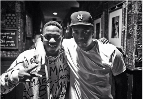 hip-hop-until-i-die:  Kendrick Lamar and Nas