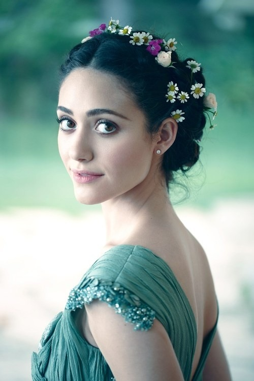 moonandtrees:  bohemea: Emmy Rossum by Diego Uchitel