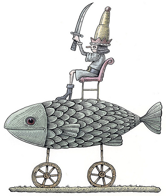 nocornea:  Fish-King by ellis nadler