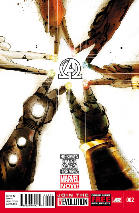 pointywednesdaycomics:  New Avengers 2 The Illuminati returns in a tightly paced and incredibly tense story. The stakes are incredibly high and it's very exciting to see how far the group will go to save their universe. The great part about the series so far is the group dynamic on play here. Funnily enough, there's more than a bit of mistrust and outright hostility between the members and it's definitely the book's strongest aspect. Come for the intrigue, stay for the characterizations.