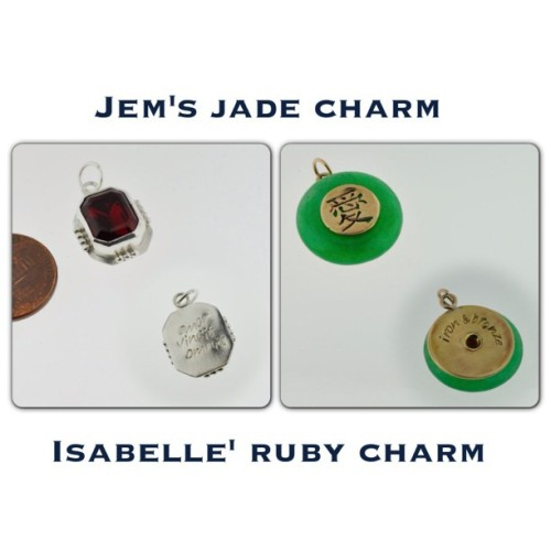 hebeldesign:  More character charms! http://www.hebeldesign.com/ADD-A-CHARM-Characters-MICHARM6.htm @cassieclare  This is amazing. I've been wanting Izzy's necklace forever but I didn't want one so big. Excited!