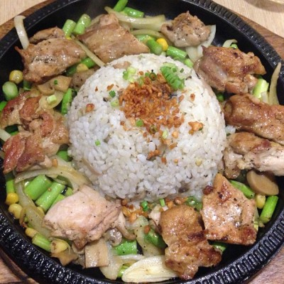 Chicken Sizzling Plate (at SumoSam)