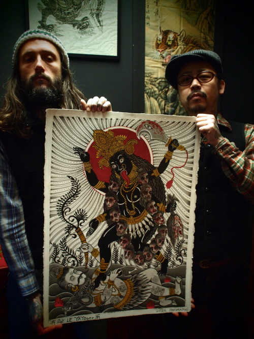 xaemaethx:Guy le Tatooer & Gotch from Harizanmai Kyoto