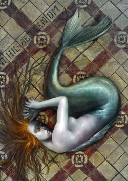 Mermaid2 by ~anestezja —-x—- More: | Creature Week #1 | Mermaids | Random |