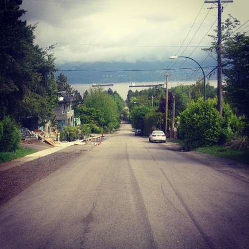 vancouver-cyclist:  Jericho Beach hills, good repeats on Trimble and 1st.#cycling #ubc #VancouverBC