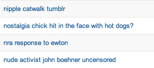 I really do love going through the searches that bring people to my blog.