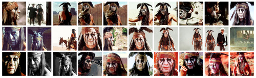 30 Johnny Depp Icons (The Lone Ranger) @ Citadel Icons.