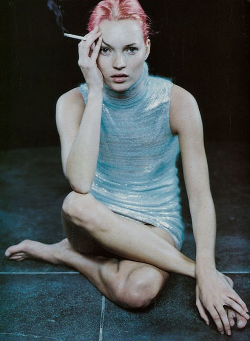 nomecalles:  Kate Moss by Peter Lindbergh, 1999