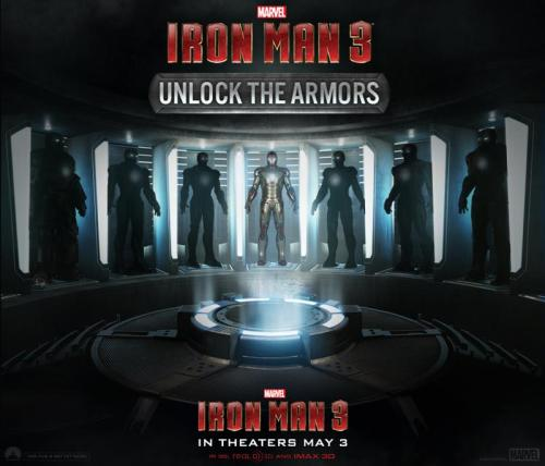 1. The Iron Man 3 red carpet premiere is April 24. 2. We're giving away some trips to the premiere.3. I just ate some Nutella and had some coffee. It's 9:30 a.m. as I type this, but it won't post until 4 p.m. CRAZY, RIGHT? via marvelentertainment:  Happy Monday, Marvelites! Let's kick this week off some sweet Marvel's Iron Man 3 action. Unlock the armors on Facebook for a chance to go to the IM3 premiere! Also, we'll be showing off some cool stuff! Links below!  Tony Stark needs your help to stop the Mandarin! Go to the Hall of Armor now to unlock new suits for a chance to win a trip to the LA Premiere on April 24. You have until 11:59pm EST tonight to send in back up. http://awe.sm/q0PyBNo purchase necessary. Void where prohibited. Rules: http://on.fb.me/10EN7fx