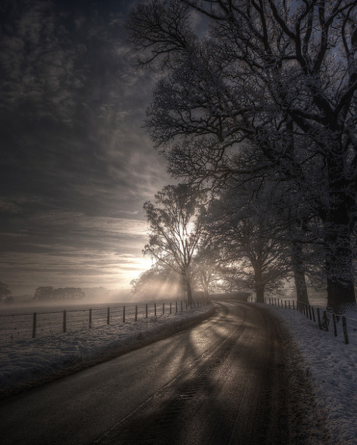 alexisintexas13:  Road to Lazonby by Mark Littlejohn on Flickr.