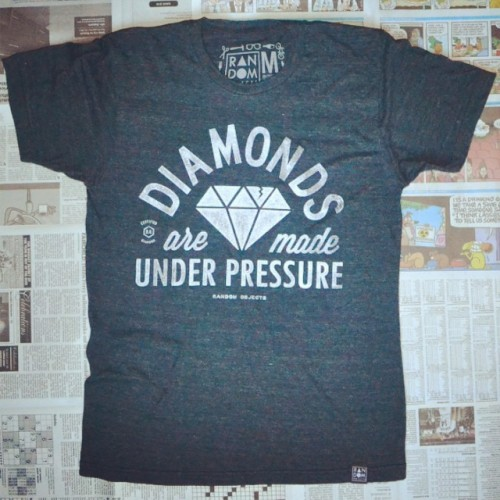 'Diamonds' is back on super soft tri-blends tees. This design completely sold out the first time it released! Go to our site to purchase yours now⬇️ 🌟http://randomobjects.net🌟 #randomobjs #randomobjects #diamonds #quote #quotes #typography #illustration #graphicdesign #graphic #streetwear #art #artwork #tee #tshirt #motivation #motivational #motivationalquotes #inspiration #inspirational #inspirationalquotes #niketalk #nt