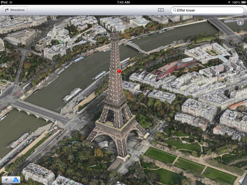 Apple expands 3D Flyover coverage in Maps to Paris