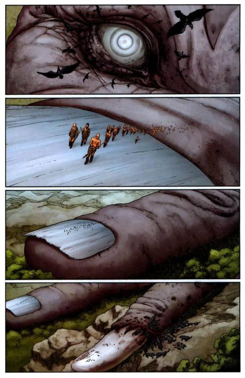 from Planetary #19 by Warren Ellis and John Cassaday