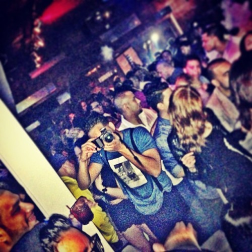 We see you. You see us?  (at Arka Lounge)