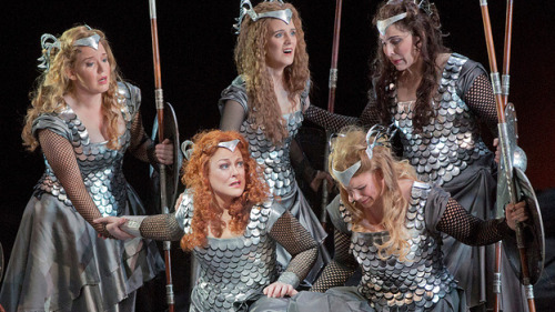 nprmusic:  Valkyries, golden rings, the holy grail… Wagner was epic, not to mention complicated. For the bicentennial, we asked an expert about the five musical episodes that keep the composer's extraordinary dramas in our lives today. Photo: Ken Howard/Metropolitan Opera