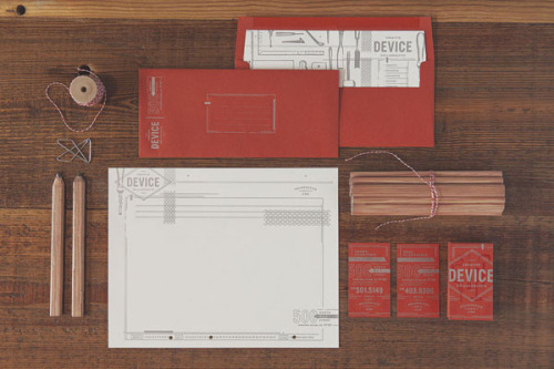 Creative Brand Design. This is the personal brand identity of Device, an award-winning creative collaborative of passionate designers. The design team creates uncommon, emotionally relevant concepts and designs for companies of all areas such as arts and culture, music, food, fashion and many more. More of the brand identity on WE AND THE COLORWATC//Facebook//Twitter//Google+//Pinterest