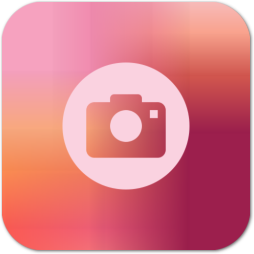 - Peach (iPhone Camera App Icon)