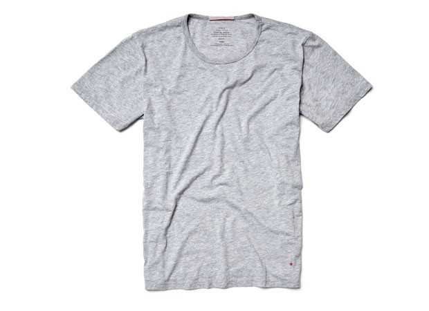 wantering:  Apolis Standard Issue Crew Neck T-Shirt  #1 get real skinny#2 only wear grey t-shirts.