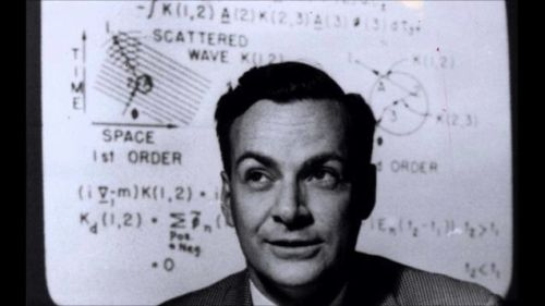 "utcjonesobservatory:  You Can Now Access All Of Richard Feynmans Physics Lectures For Free:    The lectures of Nobel Prize winning physicist Richard Feynman were legendary. Footage of these lectures does exist, but they are most famously preserved in The Feynman Lectures. The three-volume set may be the most popular collection of physics books ever written, and now you can access it online, in its entirety, for free. The complete online edition of The Feynman Lectures on Physics has been made available in HTML 5 through a collaboration between Caltech (where Feyman first delivered these talks, in the early 1960s) and The Feynman Lectures Website. The online edition is ""high quality up-to-date copy of Feynman's legendary lectures,"" and, thanks to the implementation of scalable vector graphics, ""has been designed for ease of reading on devices of any size or shape; text, figures and equations can all be zoomed without degradation."" Volume I deals mainly with mechanics, radiation and heat; Volume II with electromagnetism and matter; and Volume III with quantum mechanics. Go. Have fun.  [The Feynman Lectures on Physics via Open Culture]"