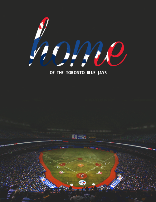 Rogers Centre → Home of the Toronto Blue Jays